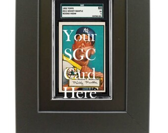 SGC Graded Sports Card Frame