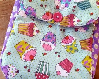 Cupcake Toddler Backpack, Pre-school  Backpack, Girl's Backpack, Overnight Bag, Small Backpack, Cupcake Bag