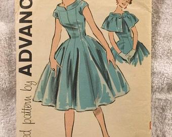 SALE!! Vintage Sewing Pattern ADVANCE 9172