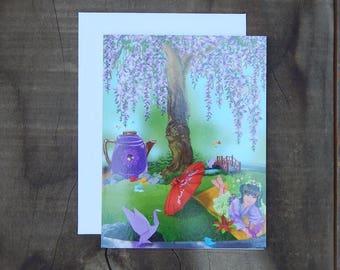 Fairy Notecard - Madison