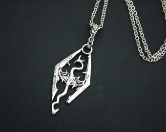 Skyrim dragon necklace