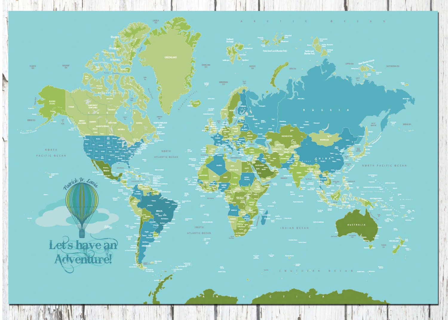 World map poster country names 40x60 travel artwork travel zoom gumiabroncs Image collections