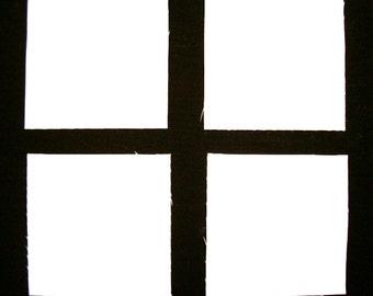 "SOLID WHITE KONA 40  4"" Squares, 100% cotton Prewashed,  Quilt Block Fabric  (stk#15)"
