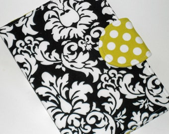 "Kindle Fire HD 7"" Cover / Nook Tablet Cover / Black Elegance eReader Cover / all sizes"