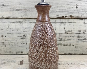 Pottery, Stoneware Ceramic Oil and Vinegar Dispenser, Vase