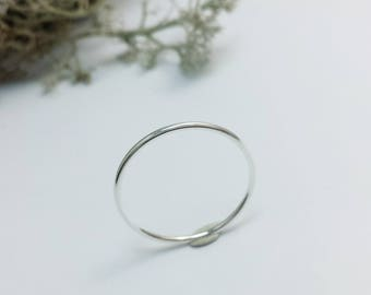 Stackable Silver ring, Sterling Silver Minimalist jewelry, Minimalist rings, Multiple rings, Simple rings, Stacking rings