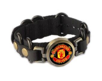 Manchester United Bracelet, Manchester Wristband Jewelry Fan Souvenir