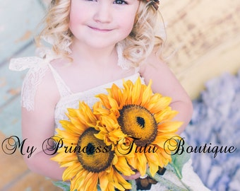 Flower Girl Rhinestone Headband Flower Girl Headband Country Wedding Bridal Headband