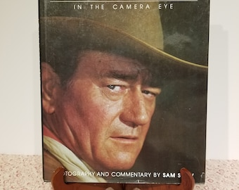 John Wayne in the Camera Eye Photography and Commentary by Sam Shaw presented by Donellensvintage