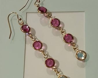 Swarovski Pink Blush Earrings