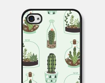 iPhone 6 Case Cactus Phone Case iPhone SE Case Cactus Samsung Galaxy S7 Case Mint iPhone 6 Plus Case Cactus iPhone 5 Case iPhone  6s Case