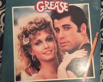 Grease soundtrack vinyl record