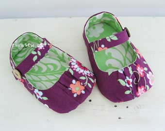 Lydia Baby Mary Janes PDF Sewing Pattern (#99)