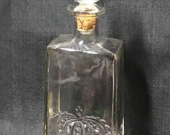 Vintage Whiskey Decanter Crown Royal Vintage Bar Item