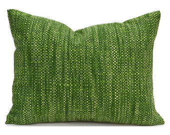Indoor Outdoor Lumbar Pillow Cover ANY SIZE Decorative Pillows Green Pillow Richloom Outdoor Remi Palm