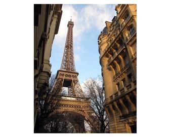 Eiffel Tower Print / Eiffel Tower Art / Eiffel Tower Wall Art - Paris Wall Art / Paris Photography - Framed Photography - Paris Gift