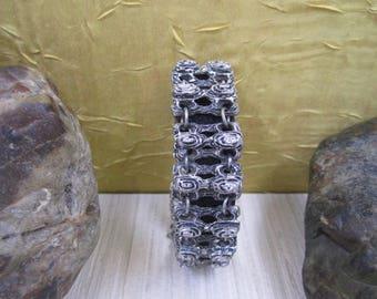 Chunky baroque style vintage bracelet