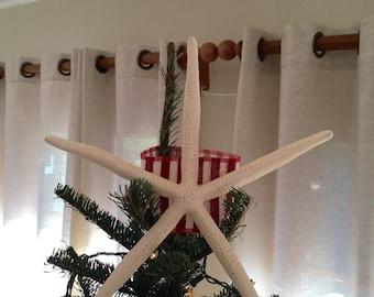 Nautical/Coastal/Beach Christmas Starfish Tree Topper