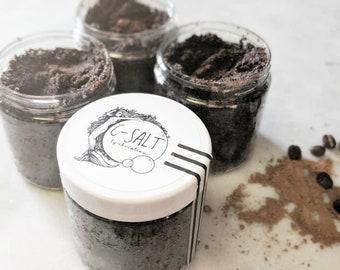 Coffee + Cacao Scrub|Vegan|Natural|Detox|moisturize|exfoliate|stimulate