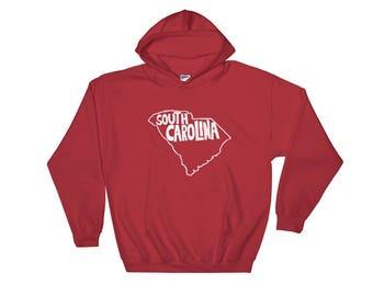South Carolina, State Hooded Sweatshirt, Hoodie