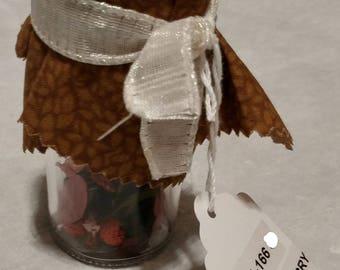 Mini Potpourri Mason jars 3 Scents Available