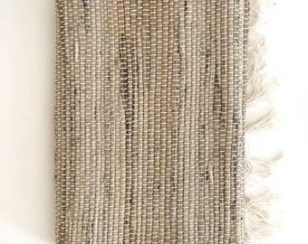 Vintage Fiber Table Runner -- Boho Decor -- Farmhouse Decor