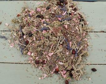 Natural Dried Flowers, Herbs, Potpourri, Petals LAVENDER BLEND No6