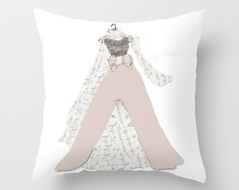 Indoor pillow cover with pillow insert, Decorative Throw Pillow Cover, Shall we dance