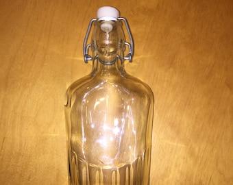 plain glass flask