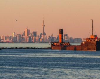 Toronto & the Ridgetown at Sunset