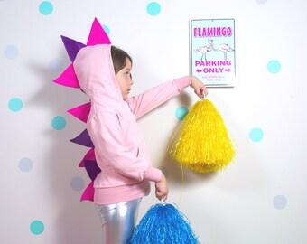 Girl Dinosaur Gift, Pink Dinosaur Party, Toddler Dinosaur Hoodie,Girl Dinosaur Costume, Pink Dinosaur, Girl Dinosaur Hoodie, Dinosaur Party