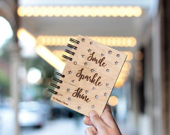 Journal Smile Sparkle Shine