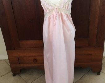 M/Juli of Slumbertogs/Pink/Long/Nightgown/Medium
