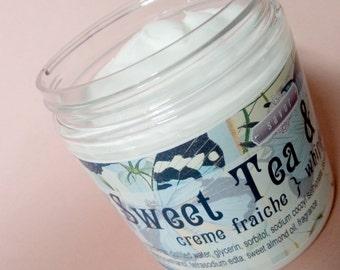 Whipped Soap VEGAN Sweet Tea and Cakes 8 oz Creme Fraiche