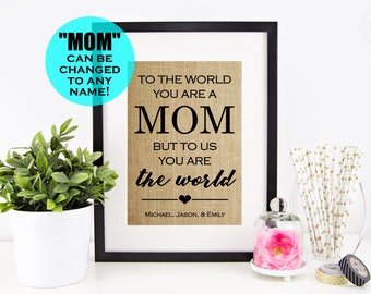 Personalized Gifts for Mom from Daughter, Christmas Gifts for Mom from Son, Mom Gift Christmas Gifts for Women, Wife Christmas Gift for Her