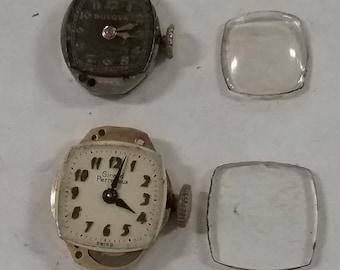 10%OFF3DAYSALE Vintage  lot of used watch parts lot af