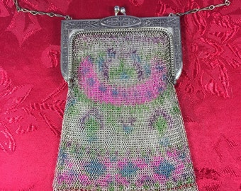 Whiting and Davis Baby Mesh Purse