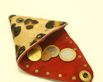 GOATSKIN PURSE animal print