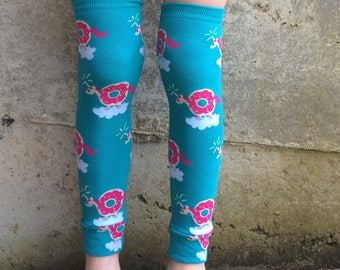 Unicorn Donut Leg and Arm Warmers - Leggings for Infant, Baby, Toddler, Kid, Tween - Fun Birthday or Baby Shower Gift for Boys or Girls