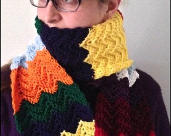 Adult Multi-Colored / Rainbow Scarf