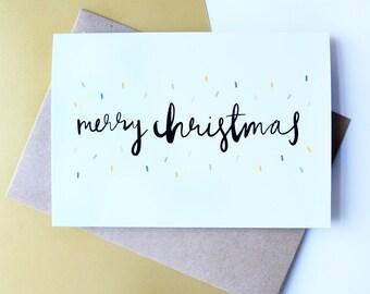 Merry Christmas // Greeting Card
