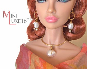 "16 Inch Doll Jewelry for Sybarite, FR16, Tonner Tyler, Poppy Parker Fashion Teen, Avantguard - 16"" Fashion Dolls 
