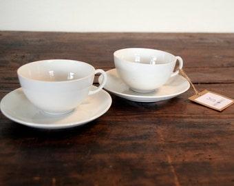Fine porcelain coffee cups