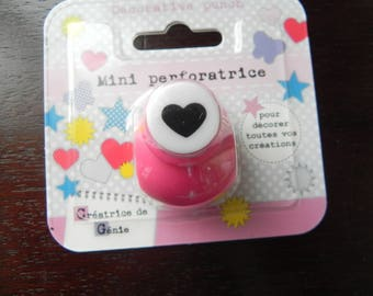 Drilling mini heart for your scrapbooking works