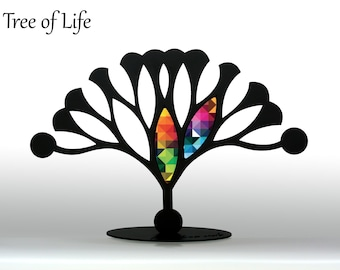 Tree Of Life Sculpture - Iron Sculpture  - Home Decor - Metal Decor - Colorful Decor - Iron Decor - Wedding Gift - New Home Gift