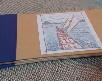 Carnet de notes, travelogue, Polynesian sea
