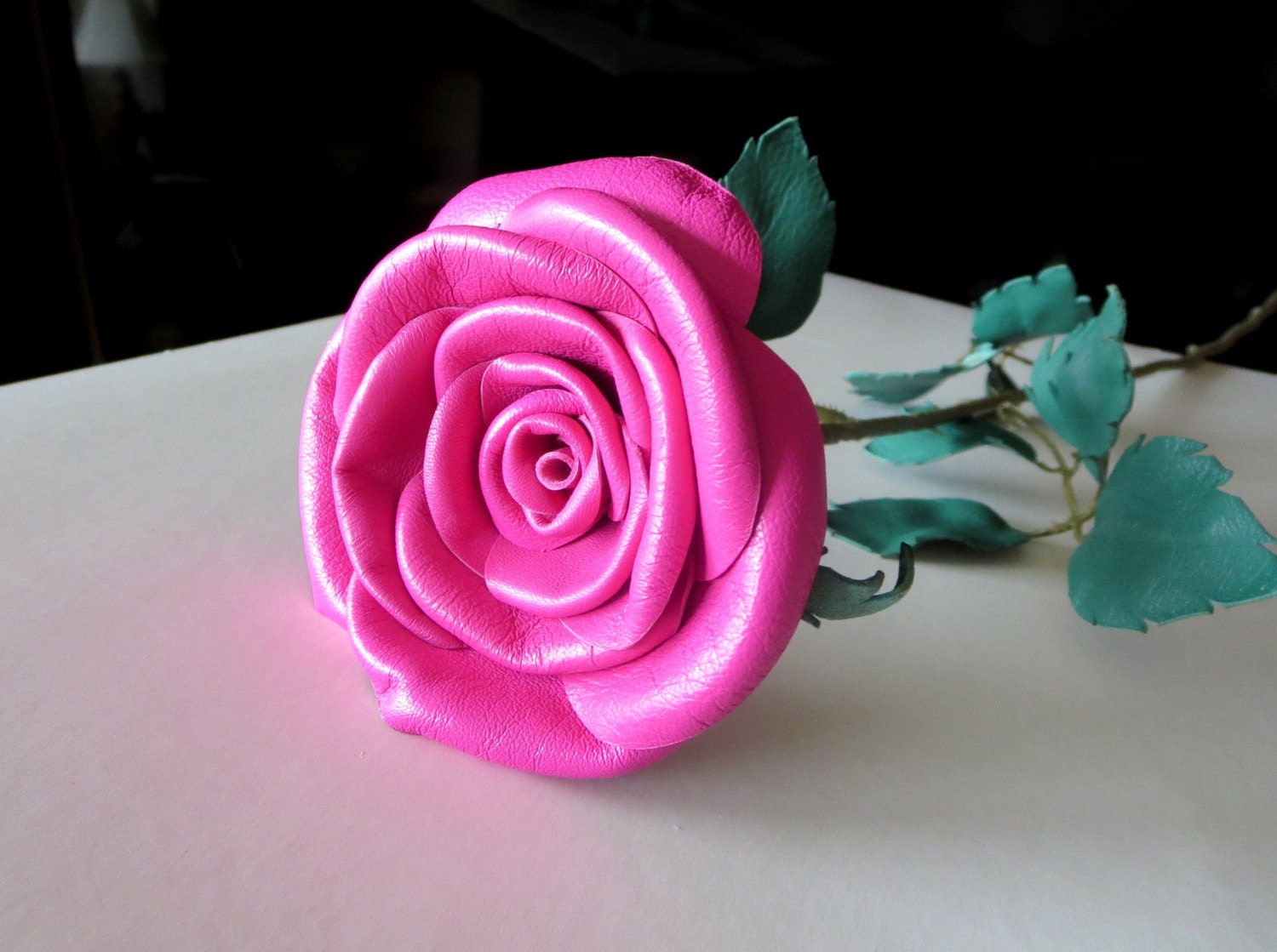 Colorful Leather Flower Bouquet Collection - Wedding and flowers ...