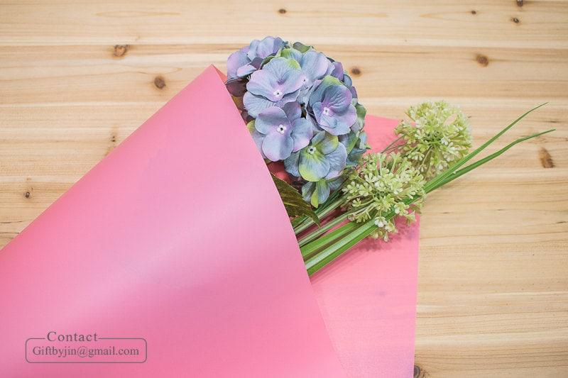Waterproof Flower bouquet gift wrapping paper roll_Waterproof Flower ...