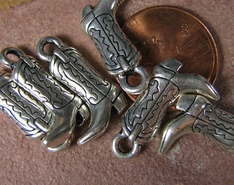 TierraCast Cowboy Boot Charms
