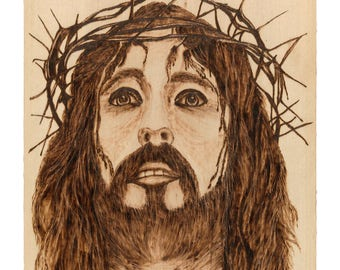 "Jesus Christ Art Print "" Passion Of Christ """